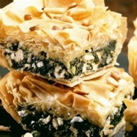 Filo Pastry Recipes With Spinach And Cheese