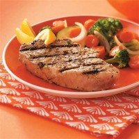 Grilled Yellowfin Tuna Steak Recipe